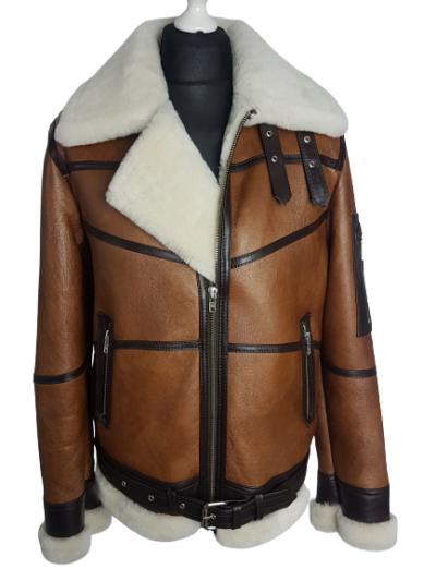 meski kozuch zimowy shipskin coat kurta zima 2019 meska skorzana panther4u ramoneska