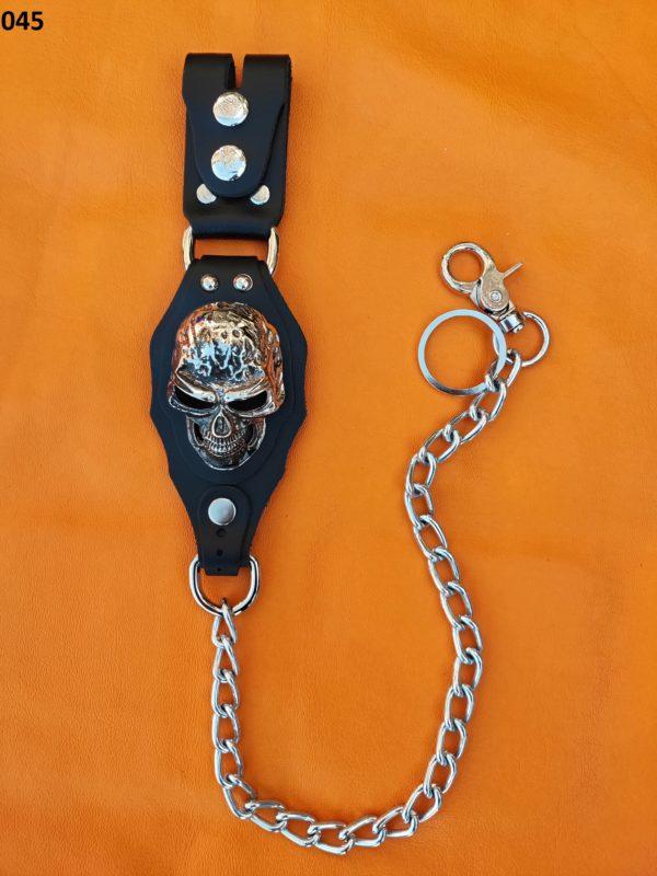 łańcuch do spodni z szeroką bojówką